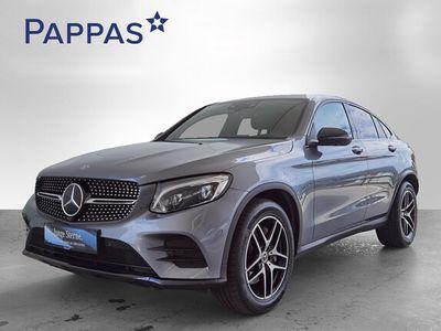 gebraucht Mercedes GLC220 d Coupé 4MATIC Aut. *AMG-Line Night-Paket*Distronik*Airmatik*360°Kamera*