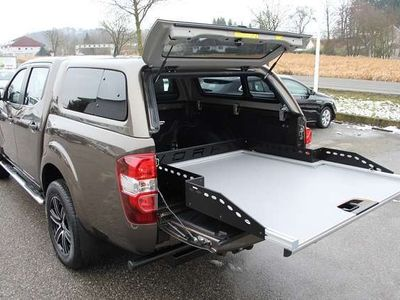 gebraucht Renault Alaskan AlaskandCi 160 DK 4 WD **Hardtop** 3.500 Kg ALast
