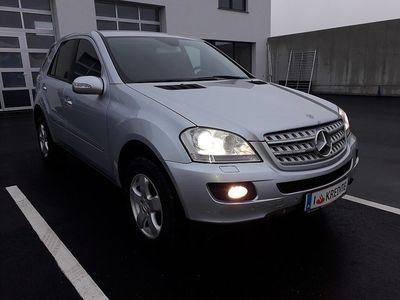 gebraucht Mercedes ML320 M-KlasseCDI 4MATIC Aut.*SOFORT KREDIT* SUV / Geländewagen,