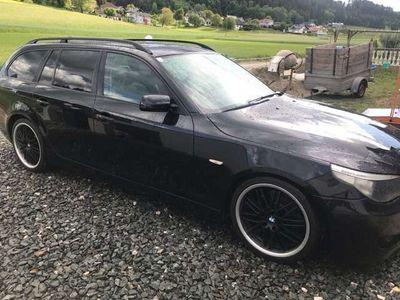 "gebraucht BMW 530 D E61 Panorama Xenon Ahk M-Paket 19"" Leder"