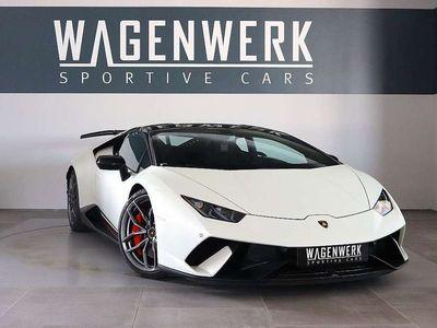 gebraucht Lamborghini Huracán Performante LP640-4 NEUWERTIG LIFT-ACHS... Sportwagen / Coupé