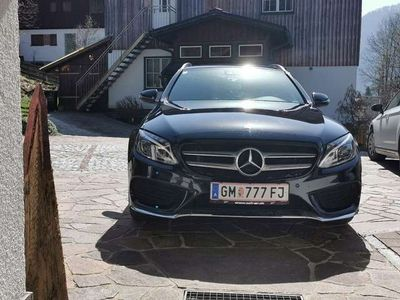 gebraucht Mercedes C220 d 4Matic T 7G-TRONIC AMG Line
