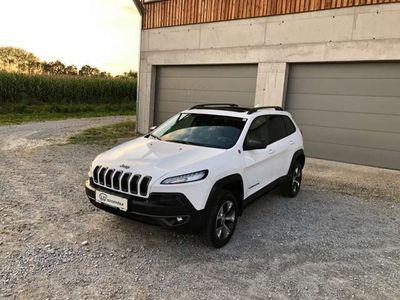 gebraucht Jeep Cherokee 3,2 Pentastar V6 Trailhawk 4WD TECHNO-, LUXUSPAKET