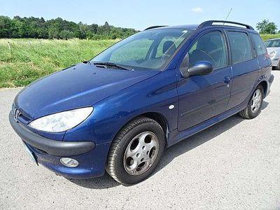 brugt Peugeot 206 SW HDI 90 Kombi / Family Van,