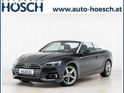 gebraucht Audi A5 Cabriolet 40 TFSI Sport Aut LP:65.595.-€