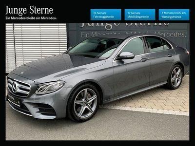 gebraucht Mercedes E220 Limousine Aut. AMG Line,Widescreen,