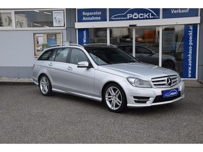 gebraucht Mercedes C300 T CDI Avantgarde BlueEfficiency 4MATIC Aut. AMG