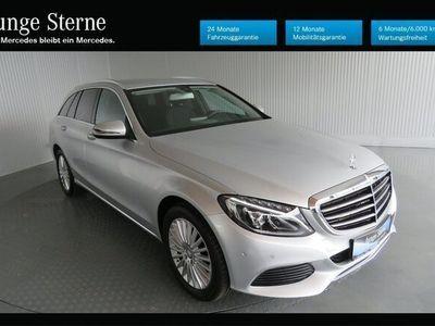gebraucht Mercedes C180 d T-Modell Autom. Exklusiv Exter.