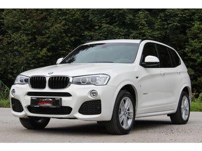 gebraucht BMW X3 xDrive M-Sport 20d F25 Facelif*VOLL*PANO*RFKamera