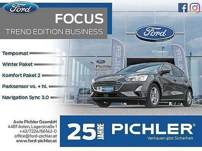 gebraucht Ford Focus Trend Edition Business 1,0 Ecob. 100PS LE... Limousine