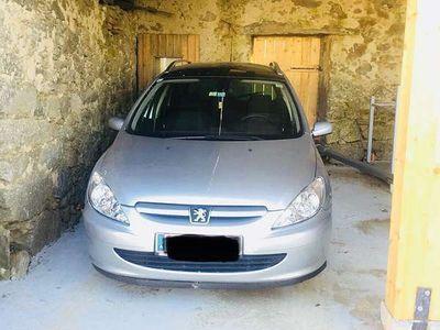 gebraucht Peugeot 307 SW 1,6 HDI 90 Kombi / Family Van