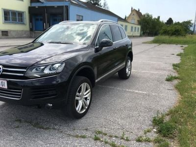 gebraucht VW Touareg V6 TDI BMT 4Motion Aut. Neupreis € 97.500