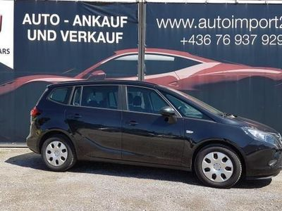 gebraucht Opel Zafira Tourer 1,6 CDTI ecoflex Edition Start/Stop System Kombi / Family Van