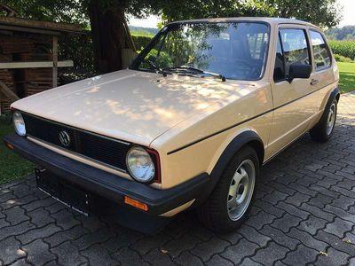 gebraucht VW Golf I GTi 1,8 *Spezial* Originalzustand Klein-/ Kompaktwagen