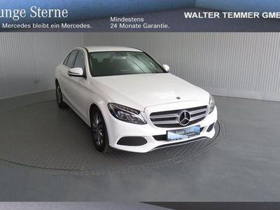 used Mercedes C220 d 4MATIC Limousine AVANTGARDE-LINE