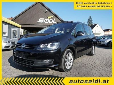 gebraucht VW Sharan Sky BMT 2,0 TDI DPF 4Motion *7-SITZE+VOLL* Kombi / Family Van,