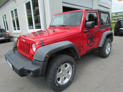 used Jeep Wrangler Sport 2,8 CRD Dualtop