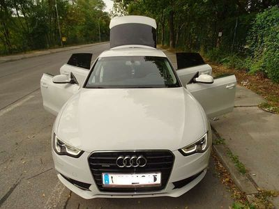 gebraucht Audi A5 A52,0 TDI QUATTRO Limousine in WEIß Limousine