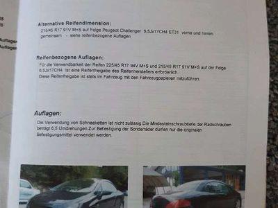 gebraucht Peugeot 307 CC / Roadster