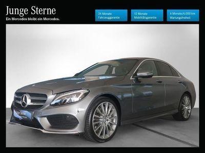 gebraucht Mercedes C250 d 4MATIC AMG Line Aut. *AMG-Line*Comand-Online*LED*Rückfahrkamera*