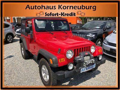 gebraucht Jeep Wrangler 4,0 Sahara *KLIMAANLAGE!!!*nur 83.700km!!