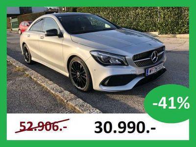 gebraucht Mercedes CLA220 CLA-Klasse4MATIC Coupé AMG-Line Sportwagen / Coupé