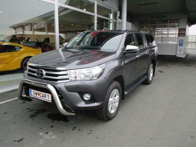 gebraucht Toyota HiLux 2,4 D-4D DOPPELKABINE 4WD ACTIVE AUT.