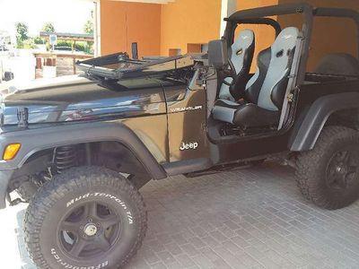gebraucht Jeep Wrangler Ideales Sommerfahrzeug SUV / Geländewagen
