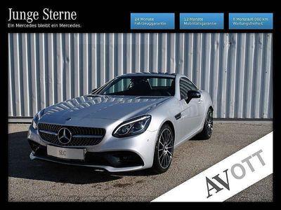 gebraucht Mercedes 180 SLCKnieairbag*Airscarf Carbon Harman Xenon Na