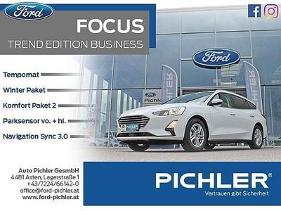 gebraucht Ford Focus Traveller 1,0 EcoBoost Trend Edition Business
