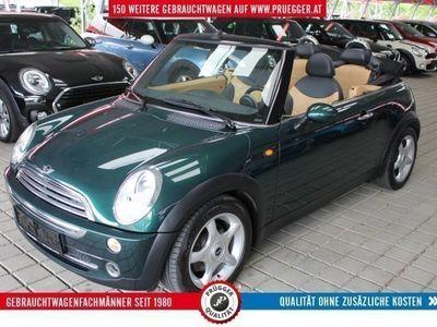 gebraucht Mini Cooper Cabriolet Austrian Chili KLIMA LEDER 16zoll