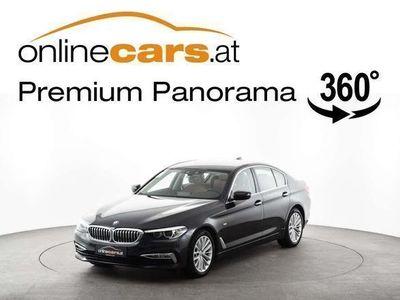 gebraucht BMW 520 d xDrive Aut. Luxury Line NAVI LEDER LED