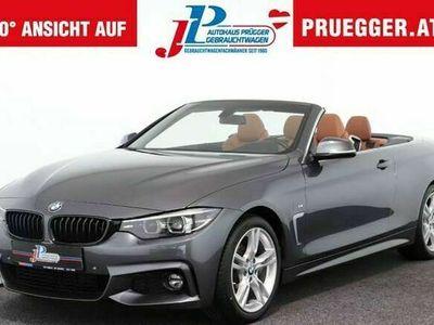 gebraucht BMW 420 i Cabrio Autom M-SPORT NAVI LED LEDER 18zoll