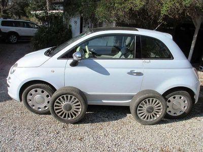brugt Fiat 500 1.2 Lounge Klein-/ Kompaktwagen,