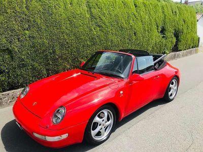 gebraucht Porsche 993 Cabrio **NUR 109.000km** Cabrio / Roadster