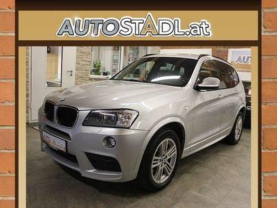 gebraucht BMW X3 xDrive20d Aut.M-Paket innen aund außen/Navi/Leder