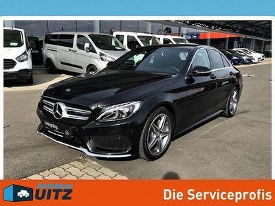 used Mercedes C180 d AMG Line Aut.