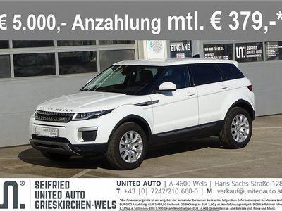 gebraucht Land Rover Range Rover evoque Pure 2,0TD4 Aut.*Allrad*Navi*Rückfahrk*uvm* Pure
