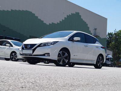 gebraucht Nissan Leaf N-Connecta 40kWh Neuwertig