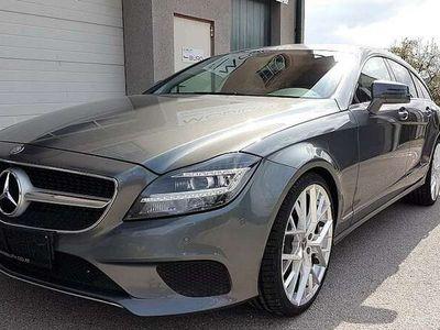 gebraucht Mercedes CLS350 Shooting Brake d 9G-Tronic; LED,NAVI,AHV,360°,A...
