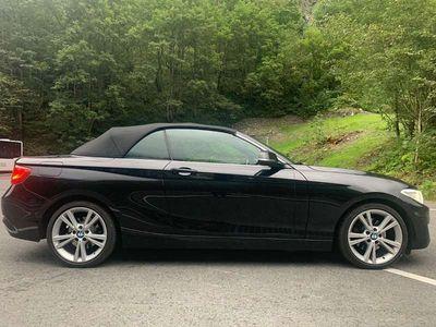 gebraucht BMW 220 2er-Reihe i Cabrio Cabrio / Roadster