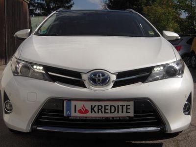 gebraucht Toyota Auris TS 1,8 VVT-i Hybrid Lounge Pickerl+Service-NEU 1A