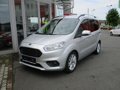 gebraucht Ford Tourneo Courier 1,5 TDCi Titanium OPA`s Liebling, 1A, Garantie! Kombi / Family Van