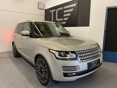 """gebraucht Land Rover Range Rover 4,4 SDV8 Vogue 22"""", AHK, Panorama, ... SUV / Geländewagen"""
