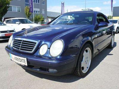 gebraucht Mercedes CLK200 Cabrio Elegance Aut.+LEDER+NUR110TKM+PICKERL NEU