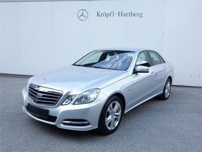 brugt Mercedes E350 CDI BlueEFFICIENCY 4MATIC Avantgarde