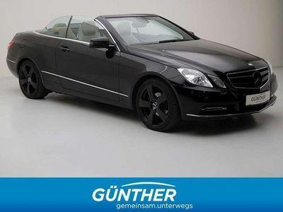 gebraucht Mercedes E220 E-KlasseCDI BlueEfficiency Cabrio / Roadster,