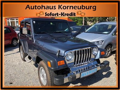 gebraucht Jeep Wrangler 4,0 Sport Hard Top*1.BESITZ!!*