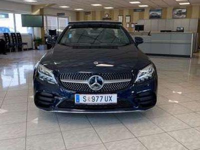 gebraucht Mercedes C200 Cabrio Aut./Junge Sterne Garantie/AMG Line Facelif