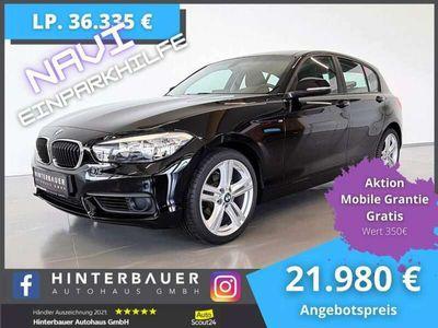gebraucht BMW 118 d *Navi*Einparkhilfe*